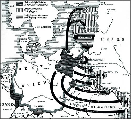 Карта генерального плана «Ост»