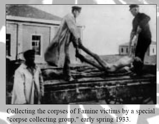 Фотография из нацистской газеты «Vоlkischer Beobachter» выдается авторами фильма за фотографию жертв «голодомора»