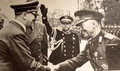 Встреча Гитлера и Антонеску октябрь 1941.