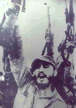 Фидель Кастро и Повстанческая армия празднуют победу