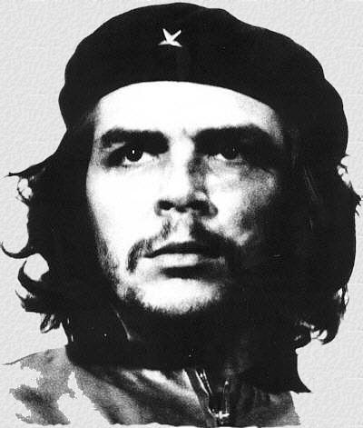 Самая известная фотография Че, сделанная Альберто Диасом, на основе которой был создан знаменитый плакат 1968 года