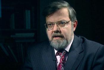 доктор ист. наук В. М. Лавров - кадр из фильма «Сорванный триумф»