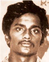 Фотография Черукури Раджкумара (Азада) из полицейского досье