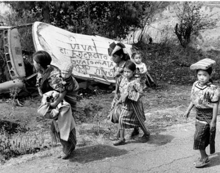 «База поддержки» гватемальской «Армии Бедных»