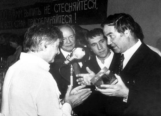 Капица, Высоцкий, Любимов