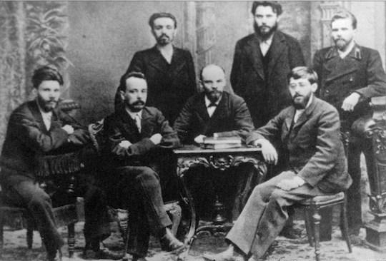Юлий Мартов и Владимир Ленин