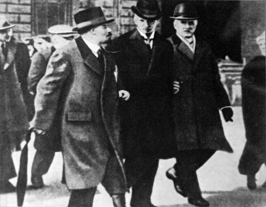 Ленин с шведскими социалистами
