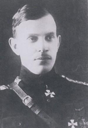 Командующий Сибирской армией Гайда